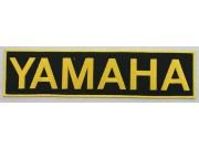 Ginat - Yamaha Biker Embroidered Patch (K) #04
