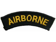 AIRBORNE SHOULDER TAB EMBROIDERED PATCH #03