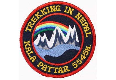NEPAL MOUNT EVEREST BASE CAMP EMBROIDERED PATCH #02