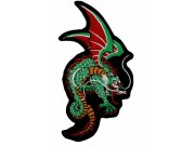 DRAGON IRON ON EMBROIDEDRED PATCH