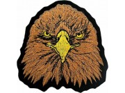 EAGLE BIKER IRON ON EMBROIDERED PATCH #02