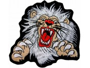 LIONBIKER IRON ON EMBROIDERED PATCH #03