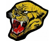 PANTHERBIKER IRON ON EMBROIDERED PATCH #01