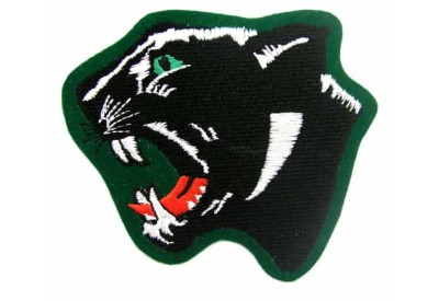 PANTHERBIKER IRON ON EMBROIDERED PATCH #03
