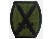 10TH ARMY INFANTRY DIVISION PATCH