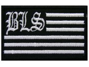 BLACK LABEL SOCIETY MUSICAL FLAG EMBROIDERED PATCH