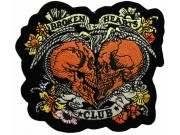 BROKEN HEARTS CLUB SKULL ROCK PATCH #01-A