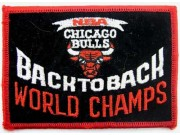 NBA BASKETBALL CHICAGO BULLS EMBROIDERED PATCH #09