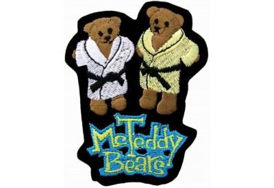 TWIN TEDDY BEARS PATCH