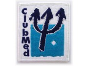 CLUB MED HOLIDAY IRON ON EMBROIDERED PATCH #04