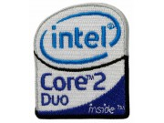 INTEL CORE2DUO IRON ON EMBROIDERED PATCH