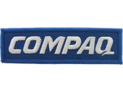 COMPAQIRON ON EMBROIDERED PATCH