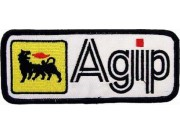 AGIP RACING IRON ON EMBROIDERED PATCH #02