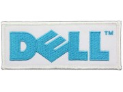 DELL COMPUTER / LAPTOP LOGO EMBROIDERED PATCH #01