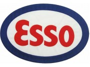 GIANT ESSO OIL & GAS EMBROIDERED PATCH (P) #01