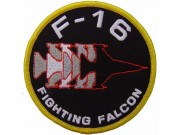 USA F16 FIGHTING FULCON PATCH