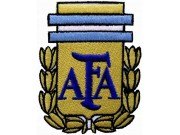 ARGENTINA FOOTBALL ASSOCIATION EMBROIDERED PATCH