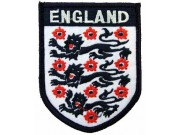 ENGLAND FOOTBALL ASSOCIATION SOCCER EMBROIDERED PATCH #02