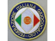 ITALY FOOTBALL FEDERATION SOCCER EMBROIDERED PATCH #02