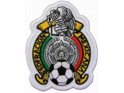 MEXICO FOOTBALL FEDERATION SOCCER EMBROIDERED PATCH #02