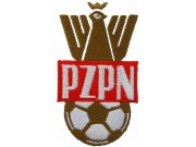 POLAND FOOTBALL FEDERATION SOCCER EMBROIDERED PATCH #02