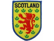 SCOTLAND FOOTBALL UNION SOCCER EMBROIDERED PATCH