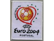 EURO CUP FOOTBALL 2004 PORTUGAL EMBROIDERED PATCH