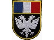 France Eagle Shield Flags