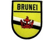 BRUNEI SHIELD FLAG PATCH (SB)