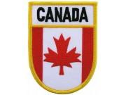 CANADA SHIELD FLAG PATCH (SB)