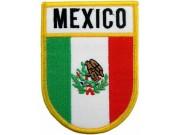 MEXICO SHIELD FLAG PATCH (SB)