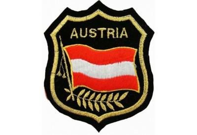 Austria Shield Flag