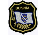 Bosnia Shield Flag Embroidered Patch