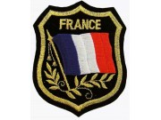 France Shield Flag
