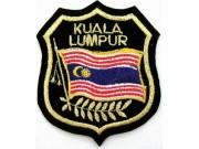 MALAYSIA KUALA LUMPUR SHIELD FLAG