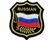 Russian Shield Flag