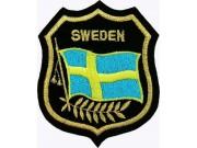 Sweden Shield Flag