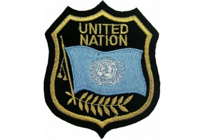 United Nation Shield Flag