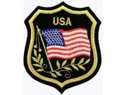 United States USA Shield Flag