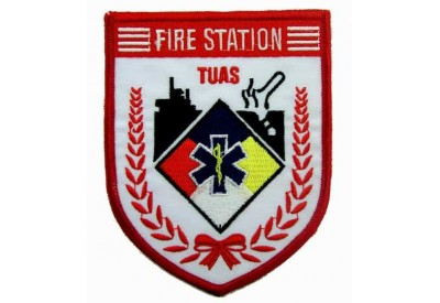 SINGAPORE FIREMAN TROOP TUAS PATCH