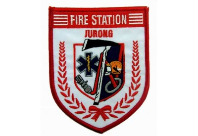 SINGAPORE FIREMAN TROOP JURONG PATCH