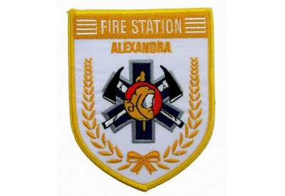 SINGAPORE FIREMAN TROOP ALEXANDRA PATCH