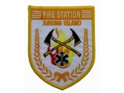 SINGAPORE FIREMAN TROOP JURONG ISLAND PATCH