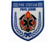 SINGAPORE FIREMAN TROOP PAYA LEBAR PATCH