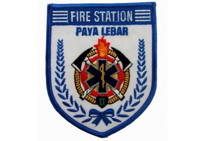 SINGAPORE FIREMAN TROOP PAYA LEBAR PATCH