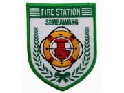 SINGAPORE FIREMAN TROOP SEMBAWANG PATCH