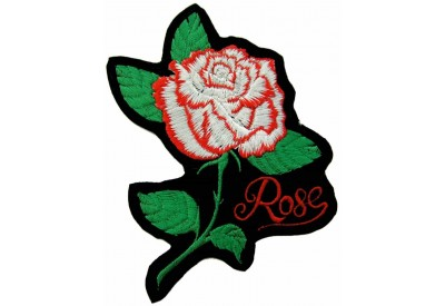 ROSE FLOWER BIKER TATTO PATCH