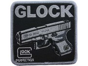 GLOCK PISTOL SHOOTING SPORT EMBROIDERED PATCH #03