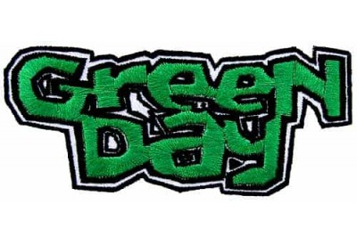 GREEN DAY BAND PUNK ROCK EMBROIDERED PATCH #01