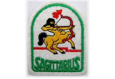 HOROSCOPE EMBROIDERED PATCH - SAGITTARIUS